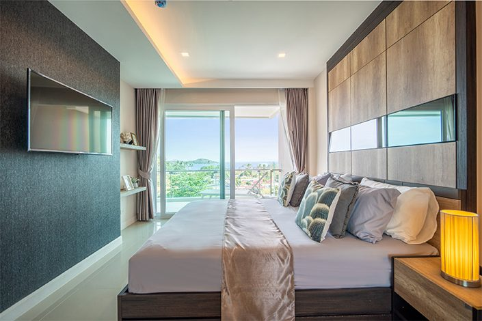 Phuket Luxury Living One Bedroom Apartment with Pool / Sea View in Rawai BEst to invest