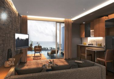 Phuket Luxury Living Ocean View Pool Access Apartment good for invest
