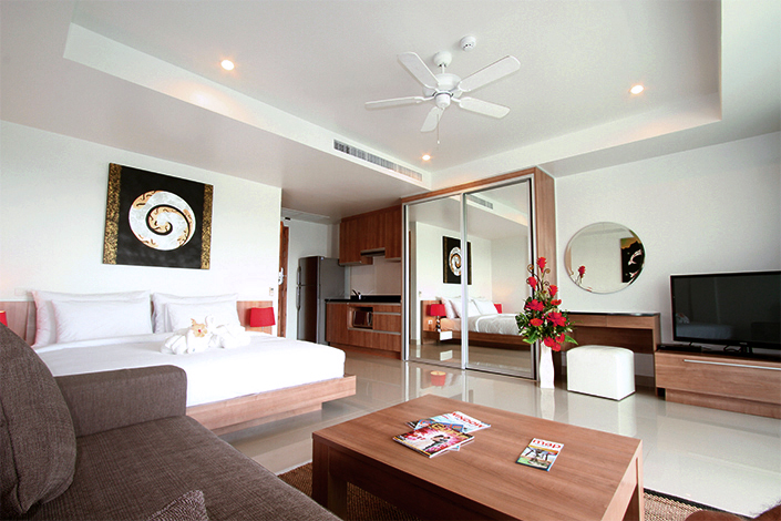 Phuket Luxury Living One bedroom apartment sell in Surin beach