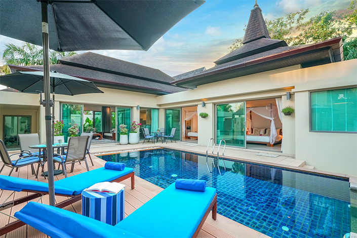 Exclusive Rental Private Pool villa in Bangtao Beach by PLL