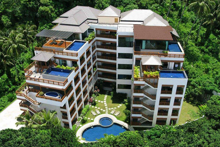 PLL_long term rental apartment one studio in Surin Beach