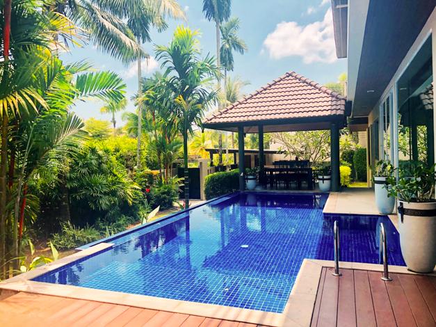 Phuket Luxury Living presented Lake view private pool villa 5-bedrooms